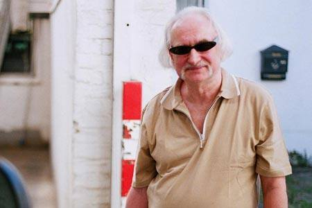 Picture is Holger Czukay, bass player for CAN.